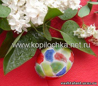 мозаика из яичной скорлупы, как украсить пасхальные яйца