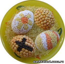 пасхальные яйца, как красить яйца на Паску